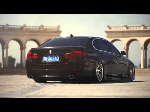 Bmw 5 Series Bagged On 20` | Vossen CV2
