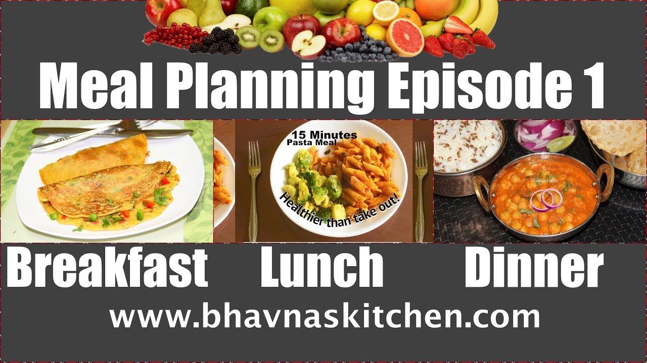 meal planning ideas episode 1 breakfast vegan omelette lunch