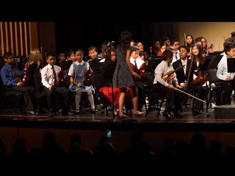 Elementary Honor Orchestra__Garden Grove Unified School District California___March 1st 2018