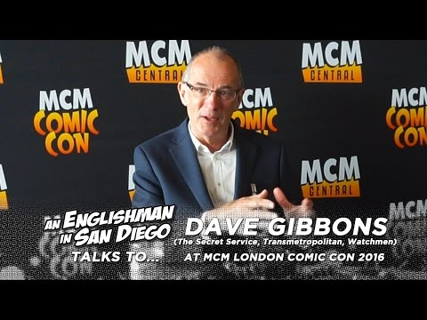 MCM London Comic Con 2016: In Conversation with Dave Gibbons