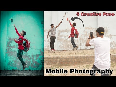 5 AMAZING Mobile Photography Tips And Tricks With Creative Ideas 🔥 Step By Step In Hindi 2019