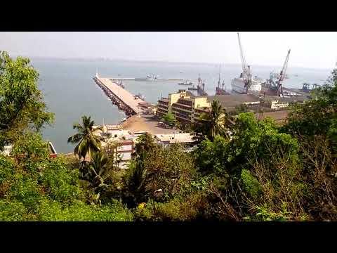 Mormugoa Port Harbour
