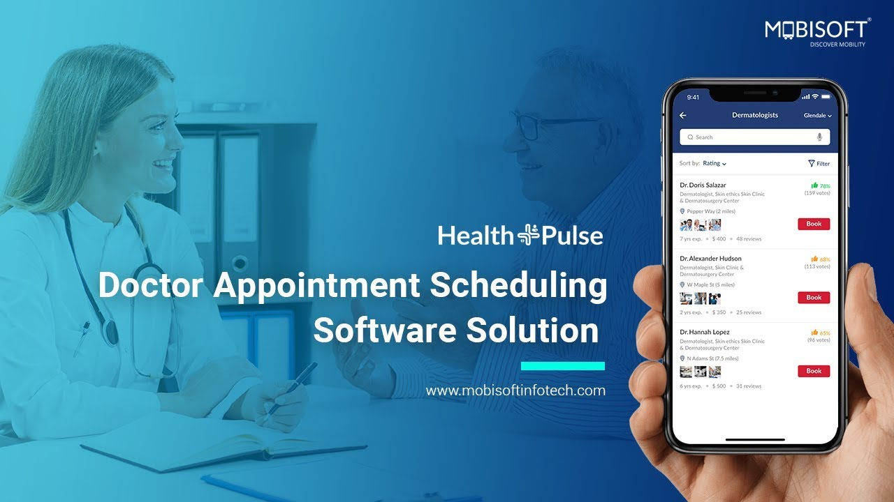 Medical Appointment Scheduling Software - Mobisoft Infotech