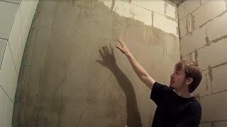 Укладка плитки на неровные/заваленные стены. Мнение Дмитрия Павлова.(В данном видео я расскажу о доступном способе укладки кафельной плитки на заваленные стены, который иногда..., 2016-08-17T20:06:34.000Z)