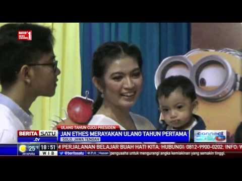 Cucu Presiden Jokowi Rayakan Ultah Bersama Anak Yatim Piatu