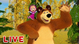 Download Masha and the Bear 🎬💥 LIVE STREAM 💥🎬 Best cartoons for children Mp3 and Videos