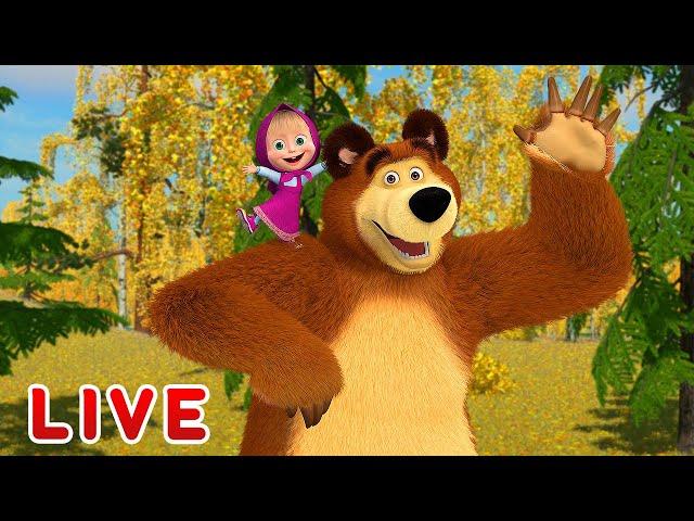 Masha and the Bear 🎬💥 LIVE STREAM 💥🎬 Best cartoons for children