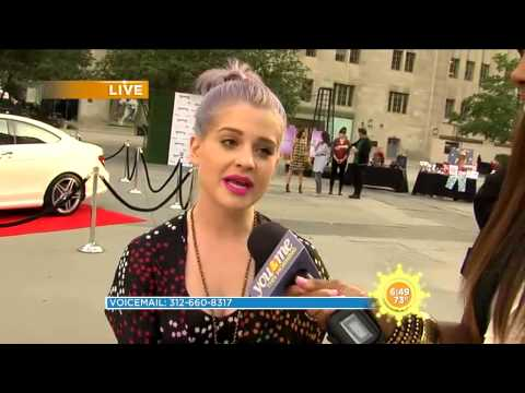 Kelly Osbourne and The Magnificent Mile Shopping Festival