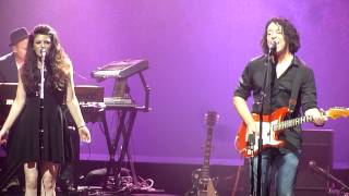 """Tears For Fears performing """"Head Over Heals"""" live @ the Fox Theatre in Oakland on 9/24/2014"""