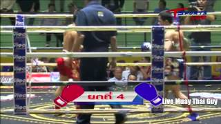 Tukatatong Por Thairungruang vs Newlukrak Pagonponsurin 28th February 2014