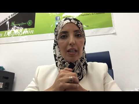 """Fatima Hamed carga contra Abascal, """"persona non grata"""" en Ceuta"""