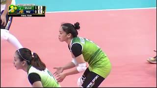 DAWN MACANDILI Highlights vs NU Final Four UAAP80