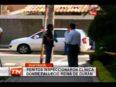 Peritos inspeccionaron clínica donde falleció reina de Durán