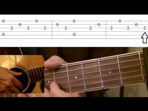 Greensleeves Guitar Lesson with Tabs
