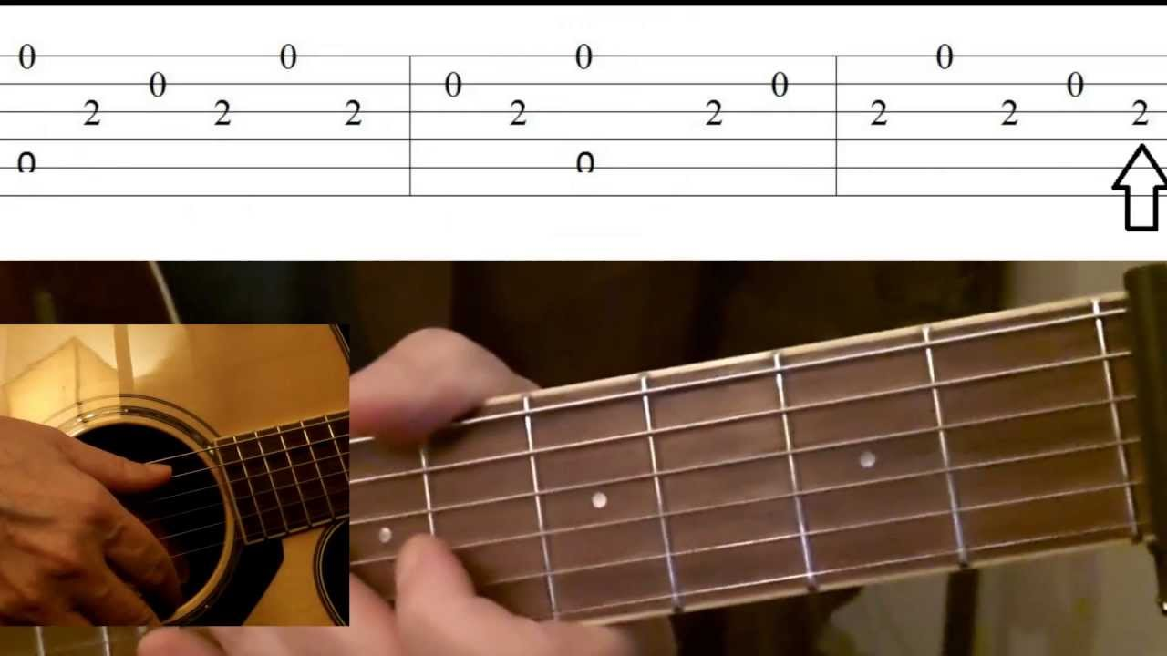 greensleeves guitar lesson tabs youtube
