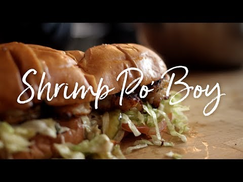 Shrimp Po' Boy Recipe