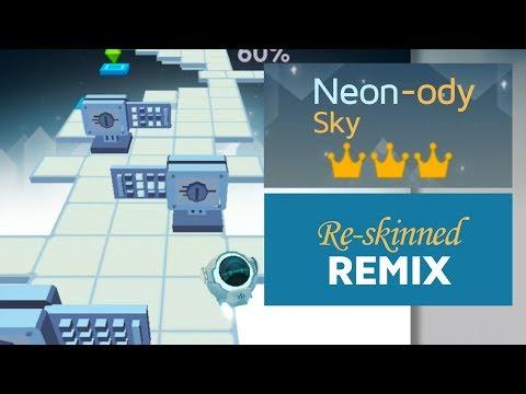 Rolling Sky - Neon-ody Sky ft. Remix (ReSkinned Version) | SHA