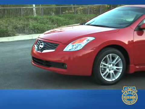 Nissan Altima Coupe Review - Kelley Blue Book