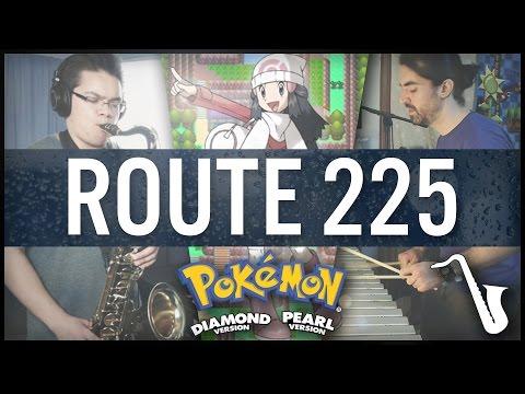 Pokémon Diamond / Pearl: Route 225 - Jazz / 80's Cover    insaneintherainmusic