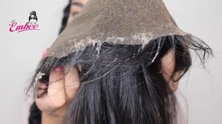HOW TO CLEAN YOUR FRONTAL! | CO-WASH