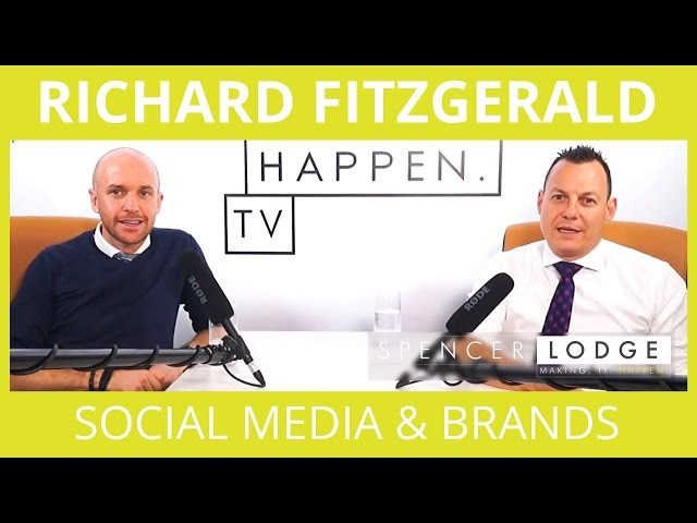 Richard Fitzgerald - The True Power Of Social Media Marketing & Online Brands