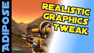 Borderlands 2: Realistic Graphics Tweak Tutorial. Disable outlines