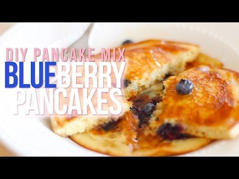 DIY Pancake Mix & Blueberry Pancakes