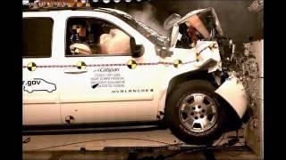 2007 Chevrolet Avalanche NHTSA Frontal Impact