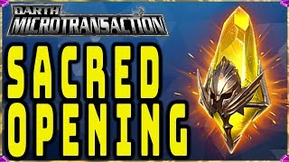 DM IS BACK! DOUBLE LEGENDARY CHANCE! Sacred Shard OPENING!