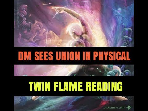 Twin Flame Reading  MASCULINE SEES UNION IN PHYSICAL  JUNE 2019