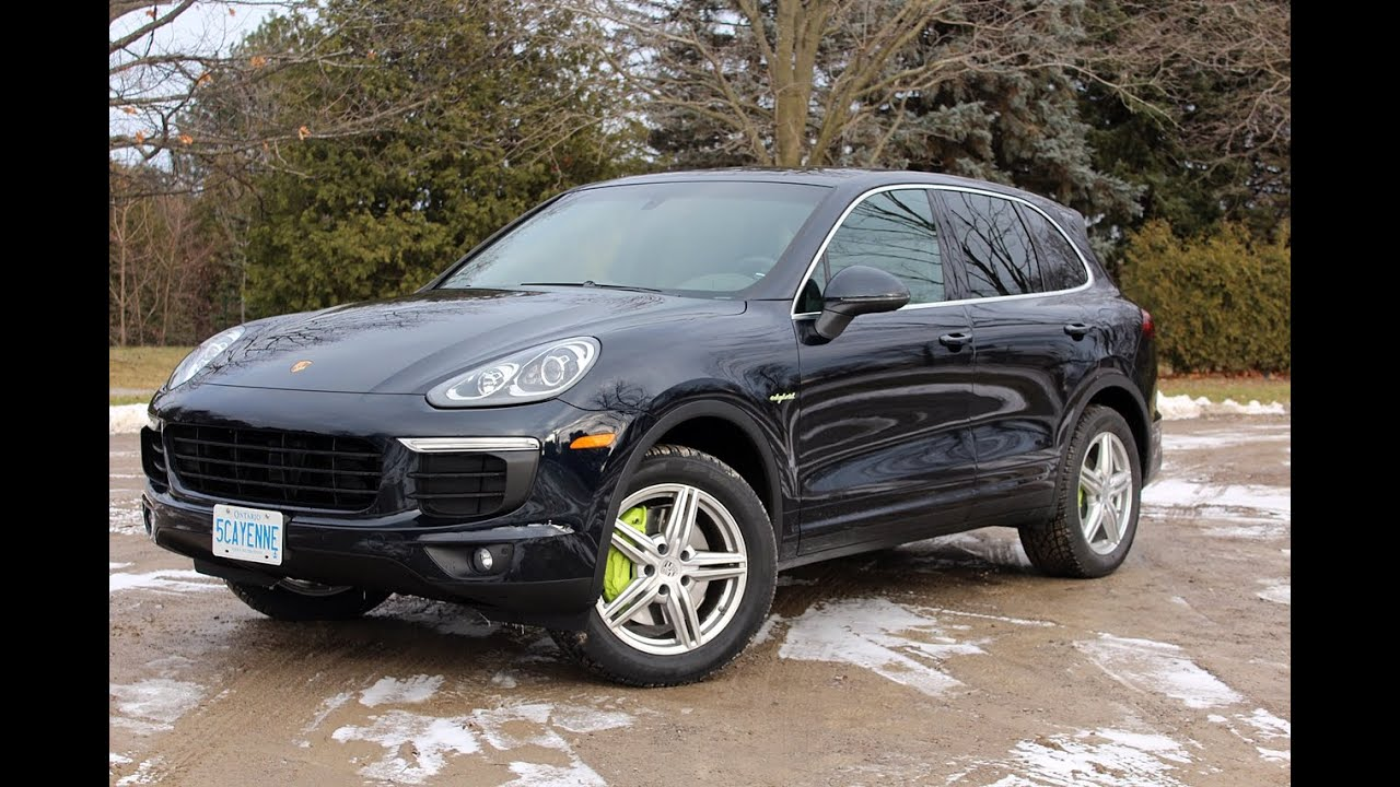 2015 Porsche Cayenne S E Hybrid Review Youtube