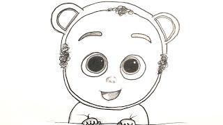 Jefe en pañales: Cómo dibujar Trillizos del bebé jefazo | How yo draw baby triplets (The Boss Baby)