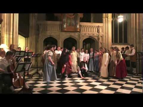Purcell Fairy Queen - Act 1: Drunken Poet scene
