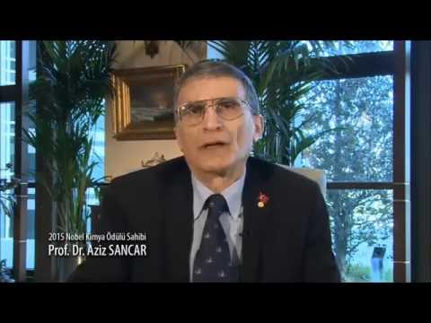 Nobel laureate Aziz Sancar appears in public announcement, suggests quitting smoking