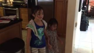Mya & Kylie singing My Neighbor Totoro Theme Song: Tonari No Totoro