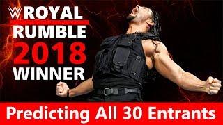 WWE Royal Rumble 2018: Predicting All 30 Entrants