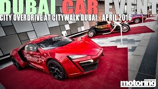 Car Event Dubai Overdrive in City Walk 2016