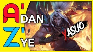 YASUO A'DAN Z'YE !! HEPIMIZ 800K YIZ  !! LEAGUE OF LEGENDS TÜRKÇE !! Video