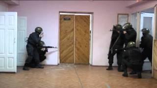 Ликвидация террористов -- съемки УФСБ