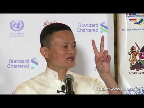 Keynote speech - High Level Roundtable with Jack Ma, Founder Alibaba Group, Nairobi Kenya.