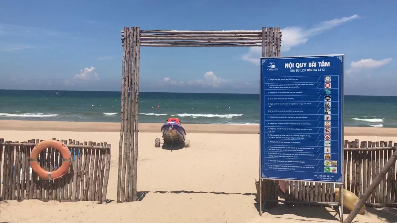 Tham Quan Bãi Biển Đẹp Nhất Phan Thiết – Biển Hòn Bà Lagi | Dori Vlog