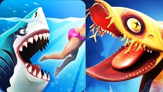 New Stealthy Shark Heidi Invisible Shark vs Human (Wobbegong) | Hungry Shark World