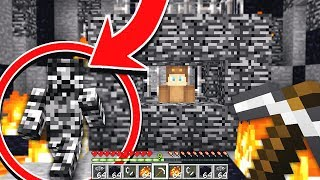 BEDROCK STEVE CAUGHT MOOSECRAFT IN MINECRAFT!