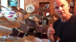 Drumbeat in the song 'eyes of a stranger' by queensryche.
