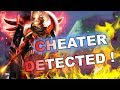Dota 2 Cheaters: Legion Commander with DUEL HACK!
