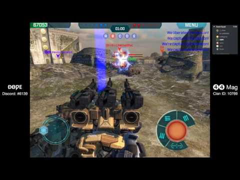 War Robots - 44Mag's DOPE and friends on Dead City, Springfield and Shenzhen (4 Battles)