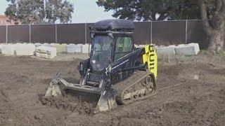 Тракторы-беспилотники и роботы-каменщики помогают строителям