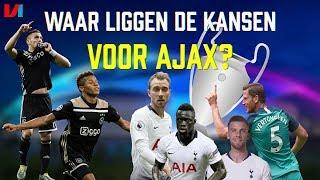 ANALYSE: Waar Liggen De Kansen Voor Ajax Tegen Tottenham Hotspur?
