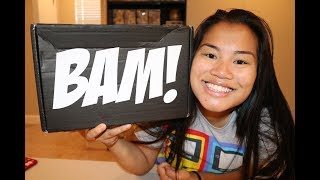 2018 July BAM! Box Unboxing