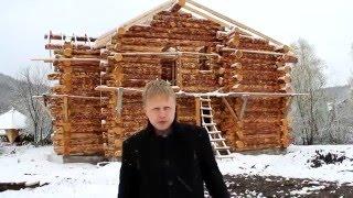видео Рубленые дома